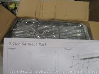 2 tier Garment rack