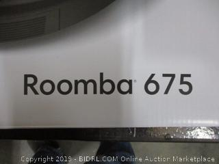 iRobot roomba 675 vacuuming Robot Factory Sealed