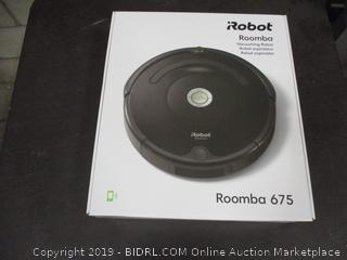 iRobot roomba 675 vacuuming Robot Factory Sealed