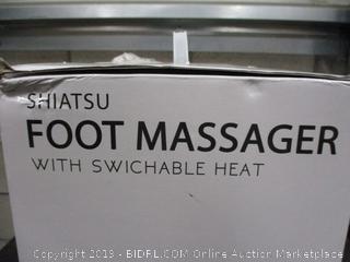 Shiatsu Foot Massager with Switchable Heat