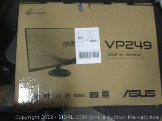 ASUS VP249HE Eye Care Monitor Powers On