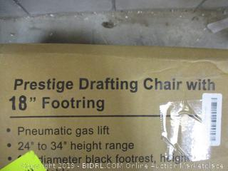 "Prestige Drafting Chair with 18"" Footring"