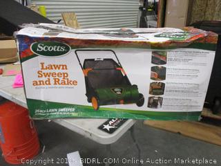Lawn Sweep and Rake