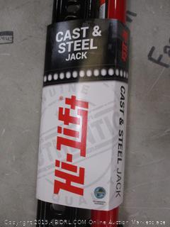 Hi Lift Cast & steel Jack