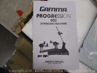 Gamma Progression 602 stringing Machine