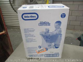 Little Tikes shopping cart & caddy