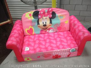 Minnie Mouse Pull out Sofa