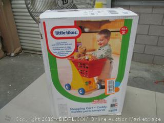 Little Tikes shopping cart & caddy