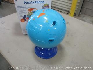 Learning Resources Puzzle Globe incomplete