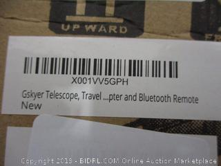 Gskyer Telescope , Travel Scope and Bluetooth Remote See Pictures