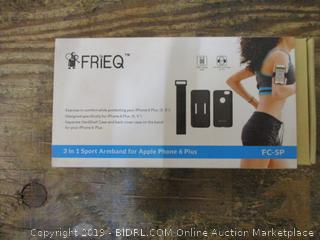 Frieq 3 in1 Sports Armband for Apple Phone 6 plus