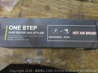 One Step Hair Dryer and Styler