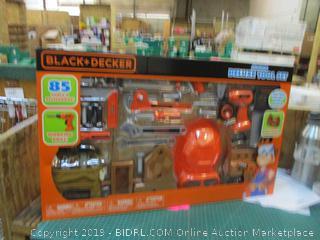 Black + Decker Junior Deluxe Tool Set Factory Sealed