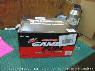 Mt Dew Game Fuel Charged Cherry Burst