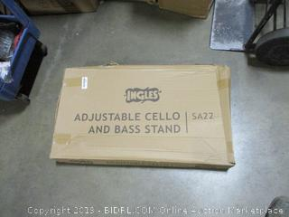 Adjustable Cello and Bass Stand