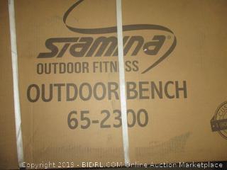 Stamina Outdoor Bench