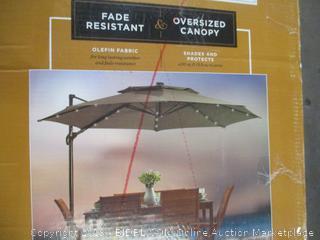 Solar Round Umbrella
