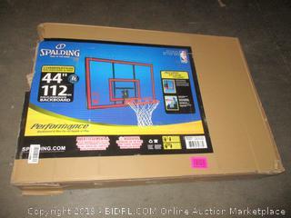 """Spalding 44"""" Basketball Hoop"""