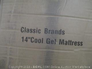 "Classic Brands 14"" Cool Gel Mattress, King"