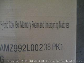 Classic Brands Gramercy 14 Inch Hybrid Cool Gel Memory Foam and Innerspring Mattress, Cal King