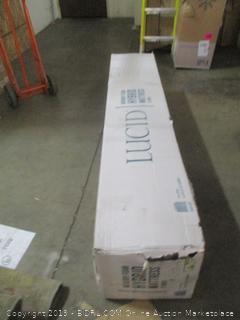 Lucid 12 Inch Memory Foam Hybrid Mattress, Cal King