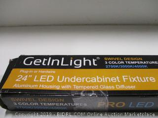 GetInLight Under Cabinet Light 24""