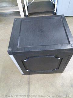 Black Storage Case (locks)