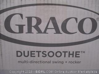 Graco DuetSoothe Baby Swing and Rocker (Sapphire Collection)