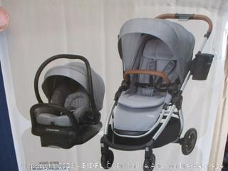 Maxi-Cosi® Adorra™ 5-in-1 Modular Travel System (Nomad Grey) - $449 Retail