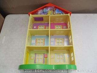 Jazwares Peppa Pig's Lights & Sounds Family Home Playset