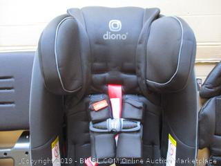 Diono Radian 3 RXT All-in-One Convertible Car Seat (Black) - $299 Retail