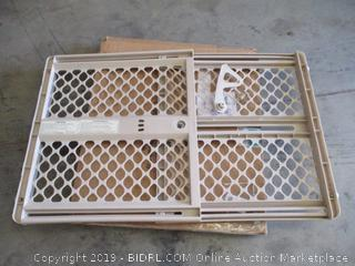 North States - Supergate® Ergo Safety Gate (Sand) - Damaged, Please See Pictures.