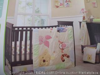 Disney Baby - Peeking Pooh 7-Piece Crib Set