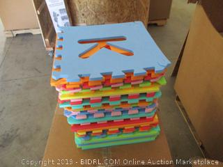 Alphabet Puzzle Interlocking Play Mat