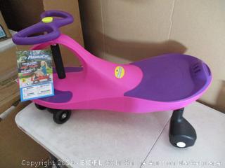 PlaSmart - PlasmaCar Ride-On Cart (Rose/Violet)