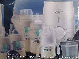 Philips - Avent All-in-One Gift Set (Bottles, Bottle Sterilizer)