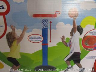 Little Tiles - TotSports Easy Score Basketball Hoop Playset