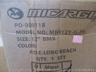 "Micargi Girls BMX Bike (12 "" BMX)"