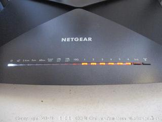 NETGEAR Nighthawk X10 Smart WiFi Router (R9000) - AD7200 Wireless Speed (up to 7200 Mbps) for 60Ghz WiFi Devices | Up to 2500 sq ft Coverage | 6 x 1G Ethernet, 1 x 10G SFP+, and 2 USB ports ($395 Retail)