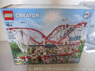 LEGO Creator Expert Roller Coaster 10261 Building Kit, 2019 (4124 Pieces) ($379 Retail, White Boxes Sealed)