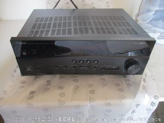 Yamaha RX-V683BL 7.2-Channel MusicCast AV Receiver with Bluetooth ($349 Retail, Powers On, Dented)