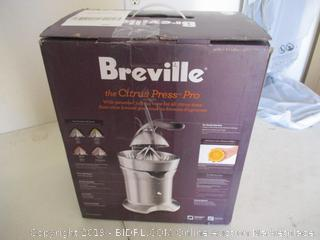 Breville the Citrus Press Pro One-Hand Automatic Citrus Juicer - 800CPXLBSS ($206 Retail)