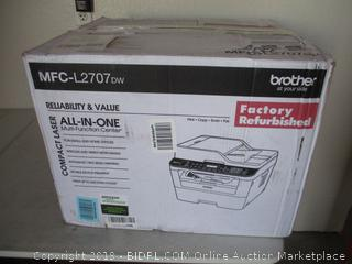 Brother Compact Laser All in One Printer (Powers On)