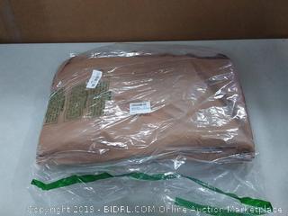 "Polare 25"" Duffle Genuine Leather Weekender Travel Duffle Luggage Bag with YKK Zipper (online $190)"