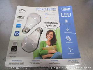 Feit Electric LED Smart Bulbs 2-Pack