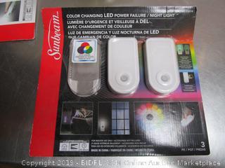 Sunbeam Power Failure Lights