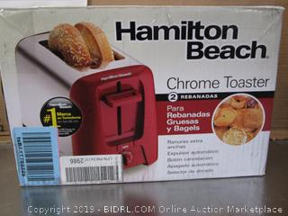 Hamilton Beach Chrome Toaster