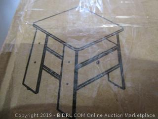 Furinno Storage End Table