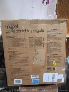 Portable Pet Gate