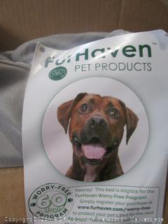 Fur Haven Dog Bed